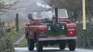 Meet the man who built a steam-powered Land Rover