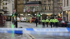 Major evacuation after gas leak in central London