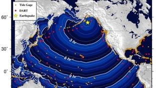 Tsunami alert for Alaska and British Columbia after 7.9-magnitude earthquake