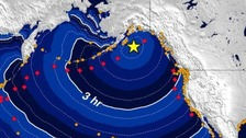US west coast on tsunami alert after earthquake
