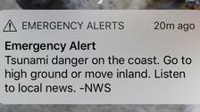 Tsunami warning downgraded after earthquake