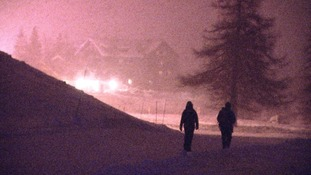 Hundreds of migrants are now crossing the Alps.