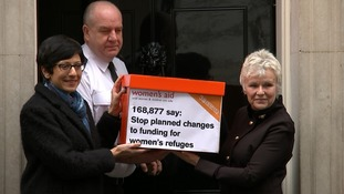 Dame Julie Walters calls on Theresa May to personally intervene to halt changes to women's refuge funding