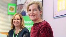 Sophie, Countess of Wessex visits NI charities