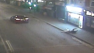 'Shocking' CCTV released in bid to trace hit-and-run driver after teenager left with life-changing injuries