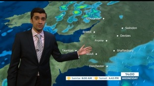 Weather: Rainy and mild temperatures