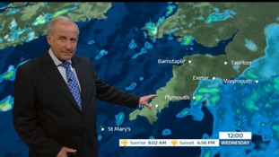 Weather: Breezy with some sun and showers