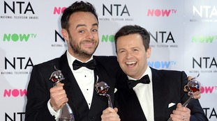 Ant and Dec win big once again