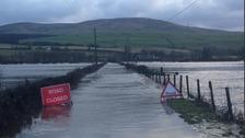 Storm Georgina: Flooding, fallen trees and power cuts