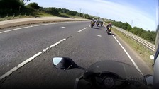 Five bikers convicted after 140mph police chase
