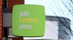 job centre plus stock photo