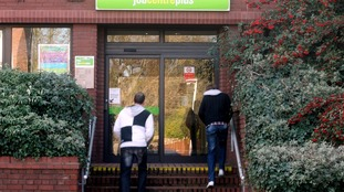 job centre plus stock photo