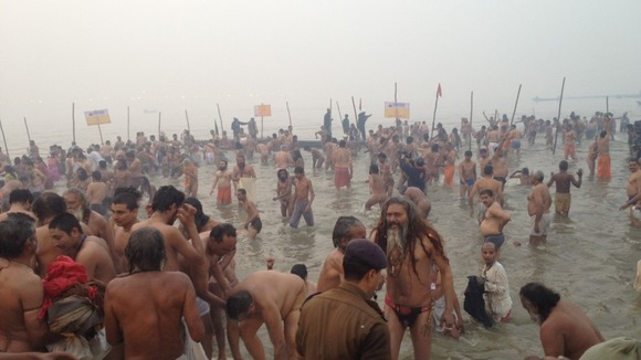 Kumbh Mela begins in the Ganges
