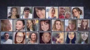 Manchester Arena bombing victims.