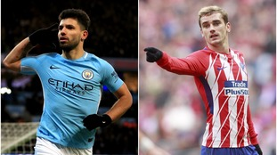 Rumours: Man City are set to offer Sergio Aguero to Atletico Madrid in a bid to convince Antoine Griezmann to join them