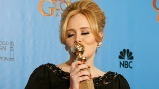 Adele leads the charge as Brits win big at the Golden Globes