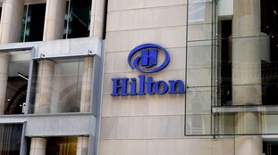 A small number of Hilton hotels have been affected.