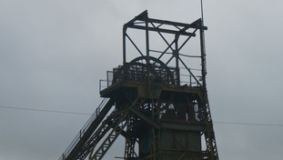 The headframe of Tower Colliery