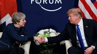 Trump predicts 'tremendous' increase in US-UK trade