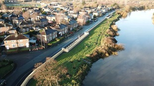 A £34 million flood defence scheme for Warrington
