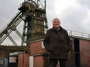 Tyrone O'Sullivan by the Tower headframe