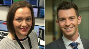 Aisling Creevey and Chris Page are ITV News Anglia's on-screen meteorologists.