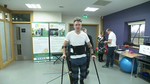 Robotic suit to help paralysed Norfolk man conquer London Marathon