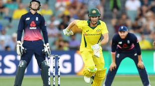 England beaten by three wickets as hopes of a one-day whitewash against Australia came crashing down