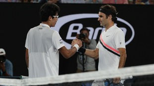 Chung retirement puts Federer in 30th grand slam final