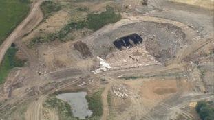 Police trawled a landfill site near Cambridge for Mr Mckeague's body