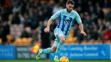 Josh McQuoid previously had a loan spell at Coventry City.