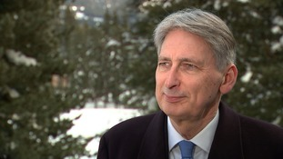 Chancellor Philip Hammond tells ITV News rebel Tories should get in line and 'stick with' Theresa May