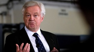 David Davis moved to dismiss reports of a growing rift within the Conservatives.