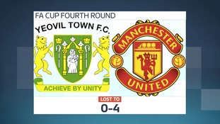 Yeovil Town knocked out of FA Cup