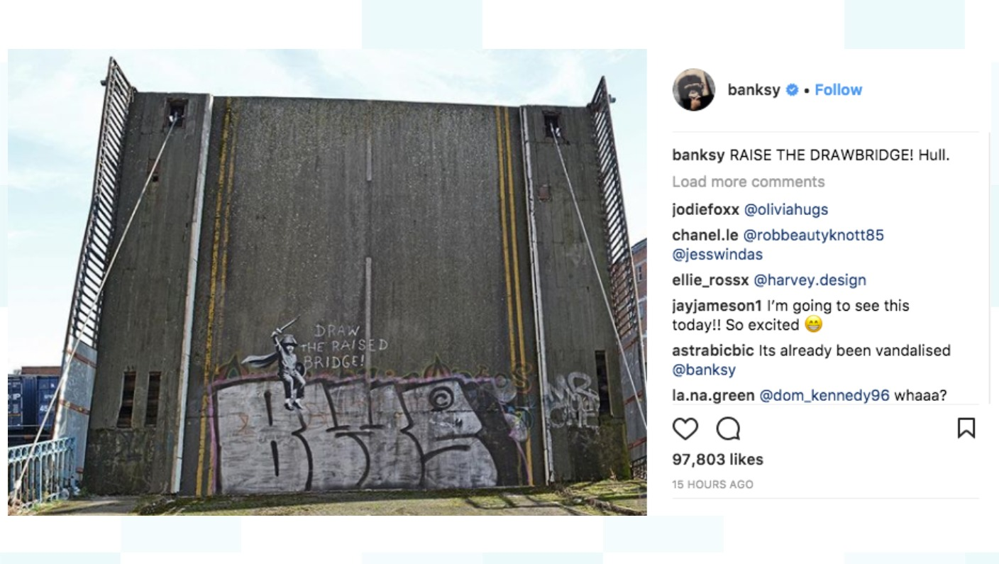 artist appreciation banksy Fine art why does it annoy me when people talk about popular artists like basquiat or banksy i don't think your reaction to name dropping art appreciation is.