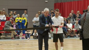 Double Olympic champion Max Whitlock opens new £12m sports arena