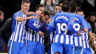 Murray fires Brighton past Middlesbrough and into the cup FA Cup fifth round