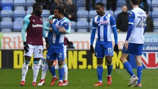 Moyes vents anger at Masuaku as Wigan beat West Ham in FA Cup