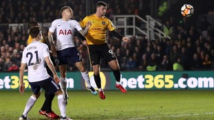 Wembley replay for Newport after draw with Spurs