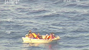 Seven Kiribati ferry sinking survivors rescued after four days drifting in Pacific Ocean