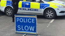 Police on scene at serious road collision on A47 at Tilney All Saints
