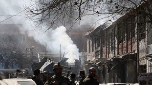 Death toll from ambulance suicide bomber in Kabul reaches over 100