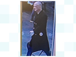 CCTV image of missing man Kevin Hauxwell