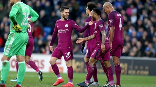 Dominant Manchester City see off spirited Cardiff in Wales