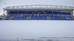 Snow hits Peterborough United's ground at London Road