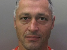 Gintautas Urbonas has been re-arrested after escaping from Peterborough prison