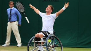 Alfie Hewett is now the world number 1 in Mens Wheelchair Tennis Singles