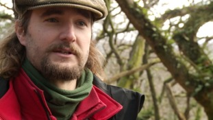 Philip Bruss, a National Trust ranger says woodlands like these must be protected.