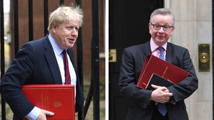 The Brexiteer ministers - Boris Johnson and Michael Gove.