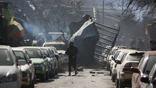At least 17 people were killed and 110 others injured after a suicide car bomb blast rocked near Sidarat Square in central Kabul on Saturday.